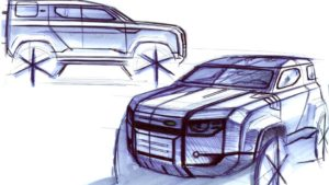 Land Rover Defender 2020 ecco il design